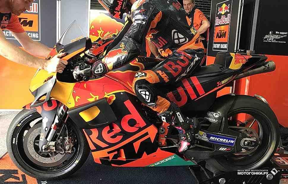MotoGP ThaiTest: KTM RC16 с винглетами впервые показался на треке в Бурираме