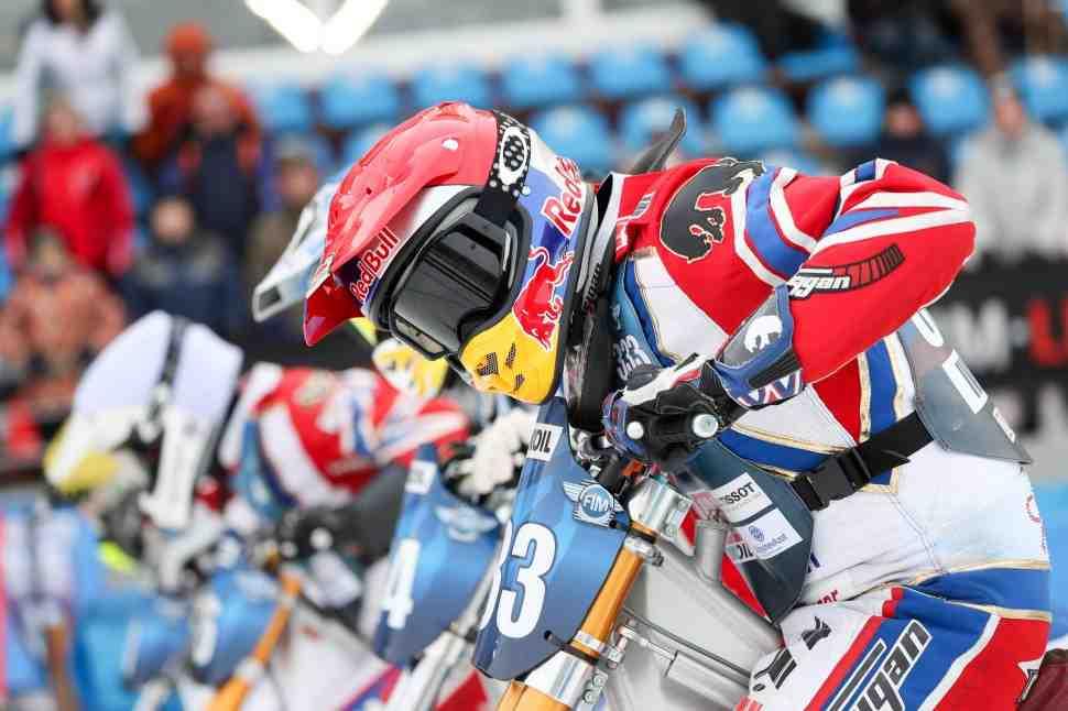 Результаты 2 дня чемпионата мира по мотогонкам на льду, Тольятти
