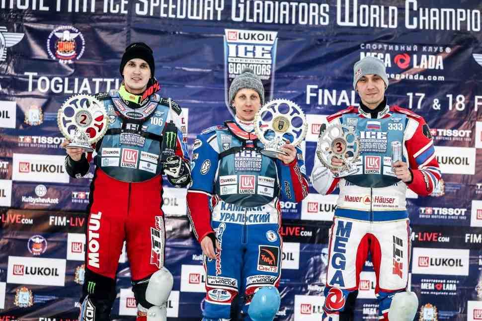 FIM Ice Speedway Gladiators: Колтаков увеличил преимущество после финала ЛЧМ в Тольятти