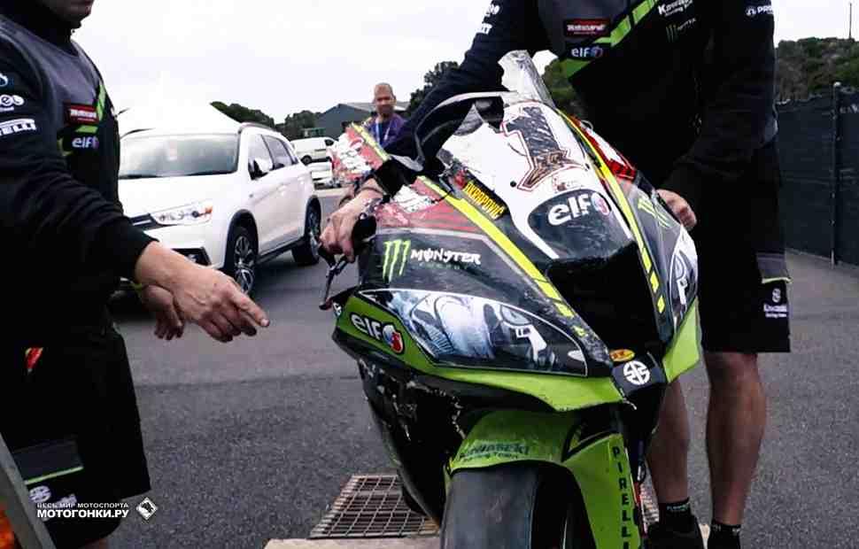 WSBK: Джонатан Рэй - Мы решили прекратить тесты после аварии
