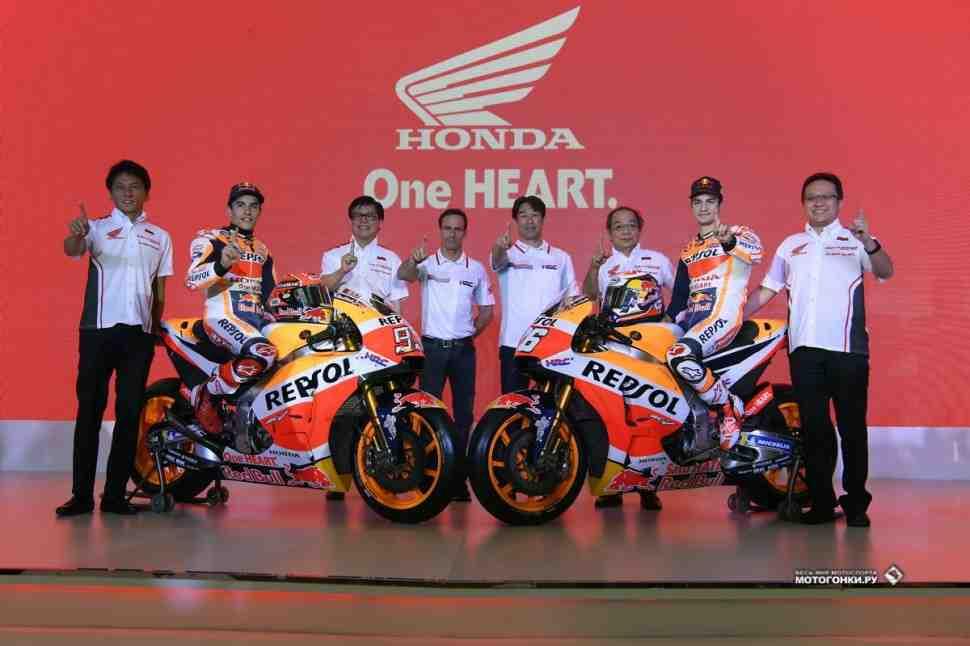 MotoGP: Honda RC213V (2018) - Фотографии, видео и характеристики