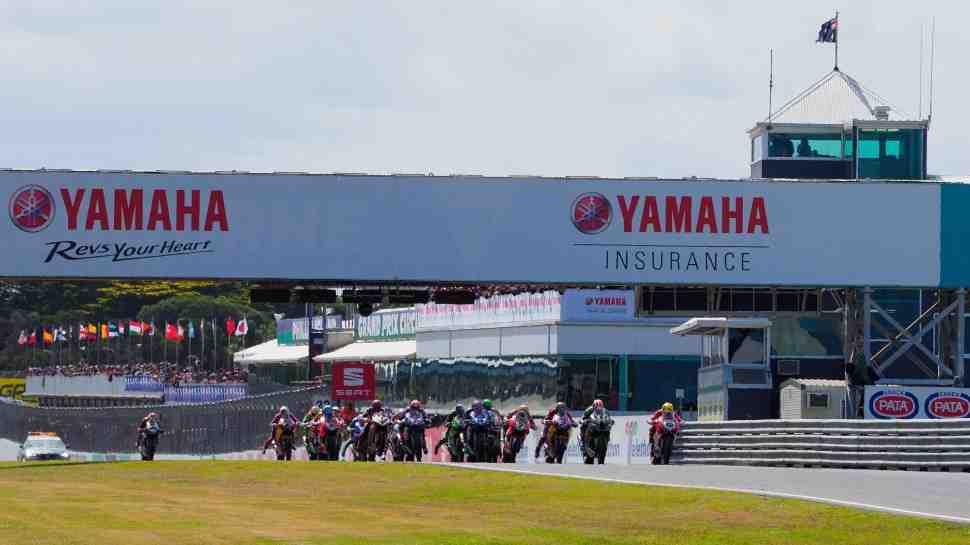 WSBK: Результаты 2 гонки, Phillip Island