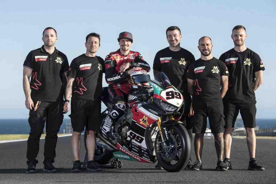 Первый саттелит: Triple M Honda дебютировала в World Superbike