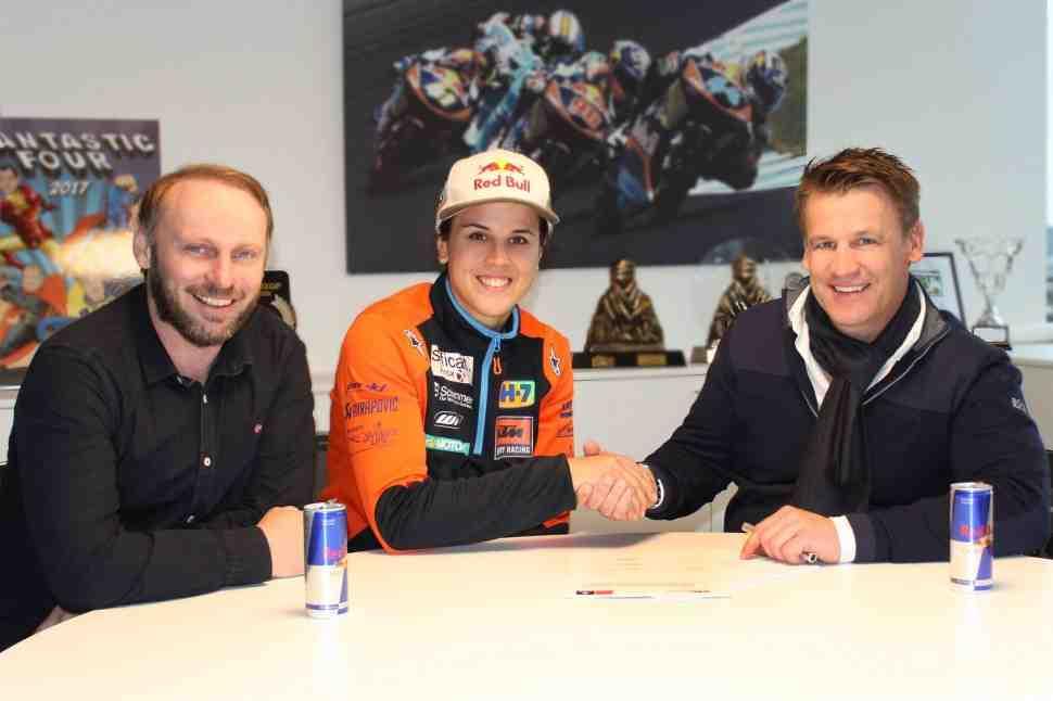 Ралли Дакар: «Королева пустыни» - Лайя Санс продлила контракт с KTM до 2020 года