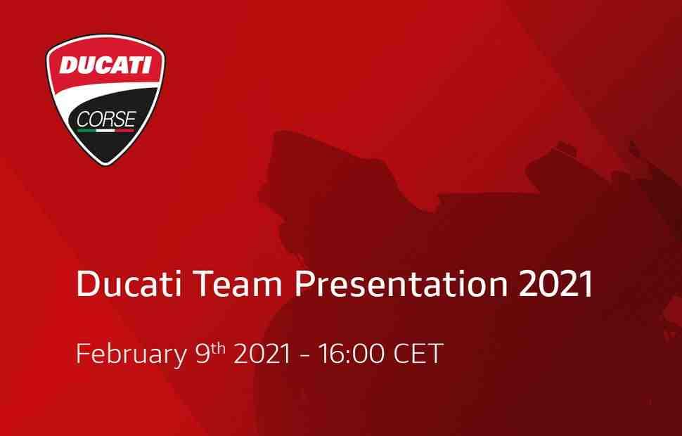 Официальная презентация Team Ducati MotoGP 2021: прямая трансляция