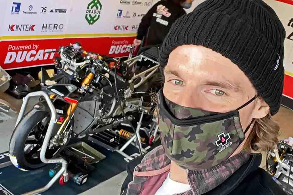 WSBK: ��� ����� ����������, ��� ��������� � ������ � Ducati V4R � factory-������������