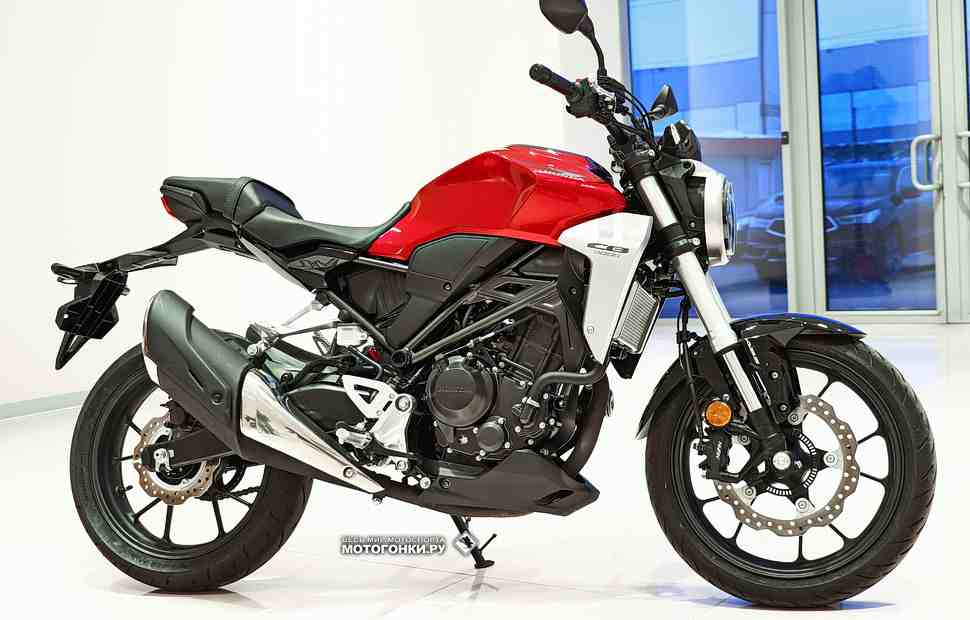 ТЕСТ-ДРАЙВ: Honda CB300R Neo Sports Cafe (2019) – Первый контакт