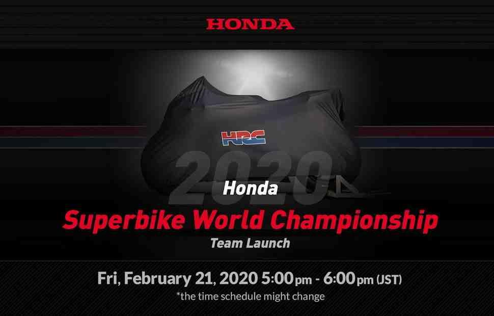 ������ ���������� �� �����: ����������� Team HRC World Superbike 2020