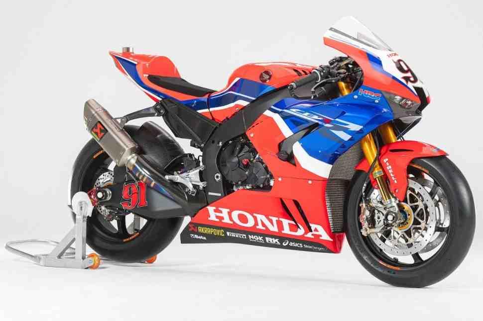 Team HRC Honda CBR1000RR-R Fireblade SP WSBK: ���������� ��������� � ������� �����
