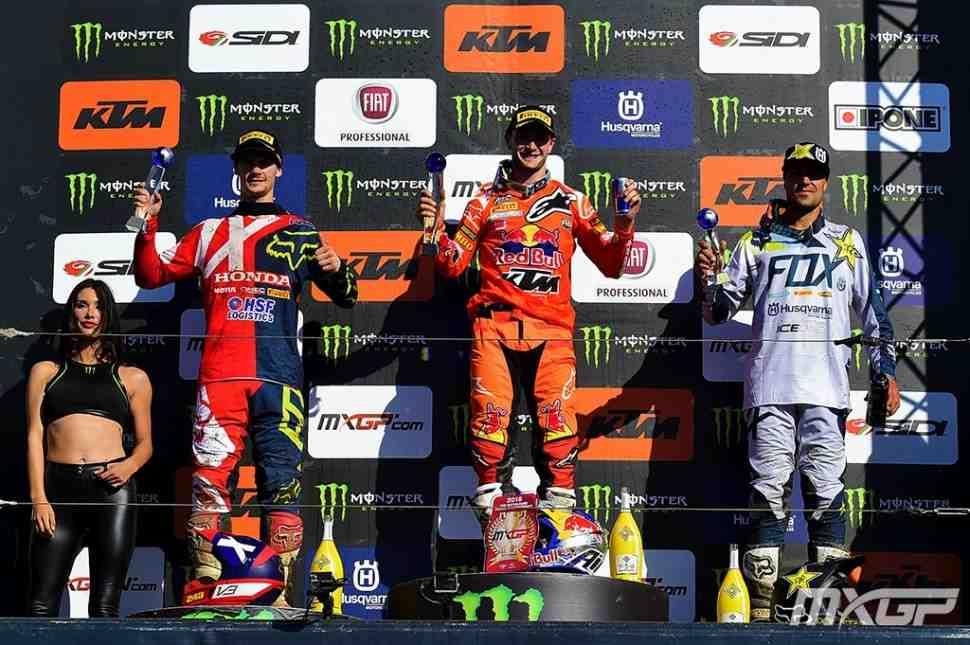 Мотокросс: результаты Гран-При Германии и протокол чемпионата Мира MXGP/MX2 после 8 этапов