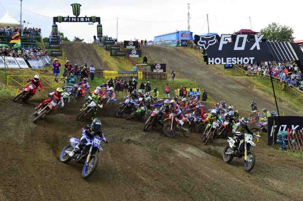 Мотокросс: видео квалификации Гран-При Чехии MXGP/MX2