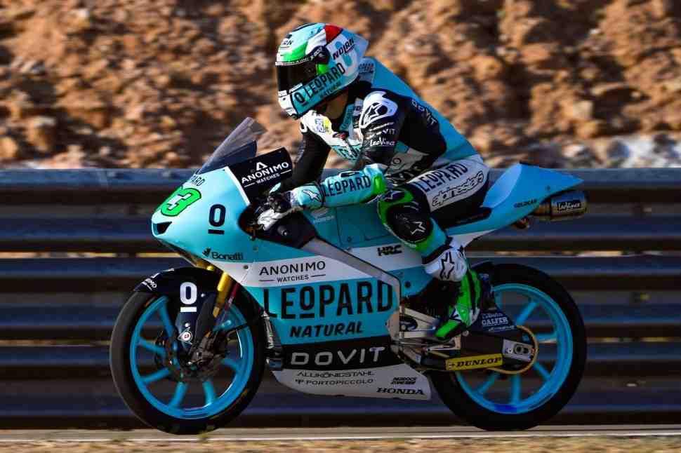 Moto3: FP1/FP2 - комбинированные результаты AragonGP