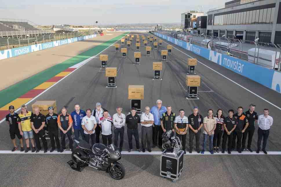 Triumph передал первый комплект двигателей Moto2 чемпионату по Мото Гран-При