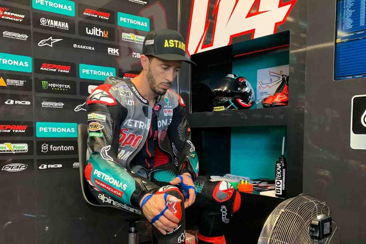 Андреа Довициозо оценил свою первую гонку после возвращения в MotoGP: хороший тест перед тестом