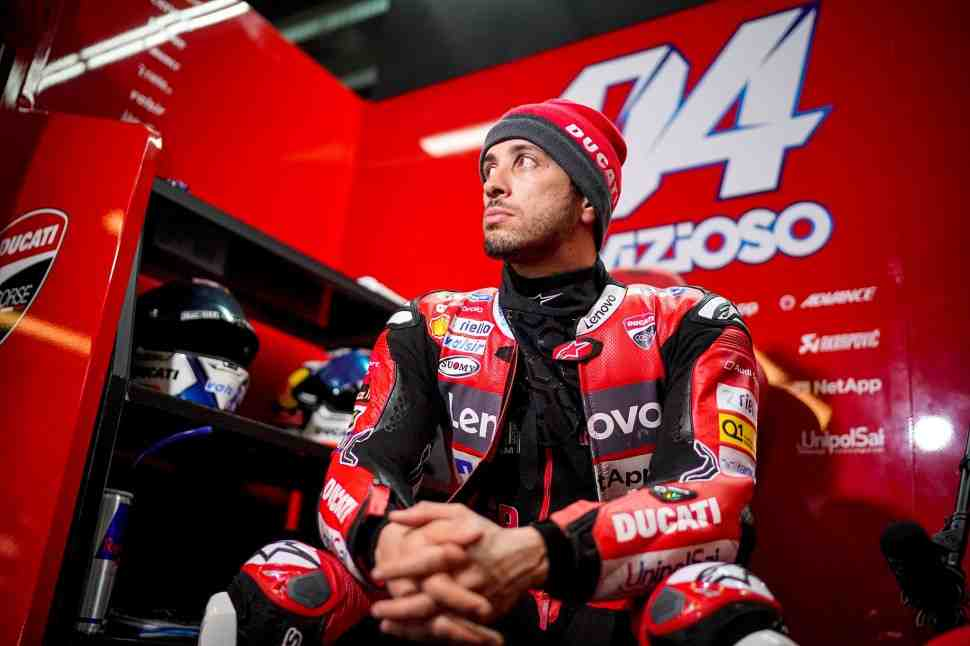 Андреа Довициозо снова готов к схватке за подиум в MotoGP?