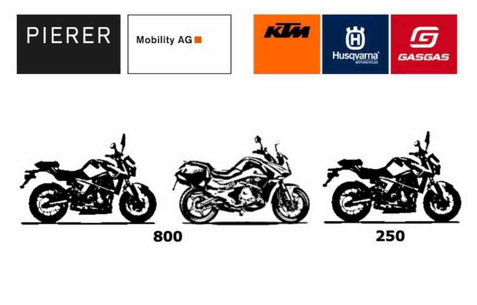 KTM оплодотворит модельный ряд GasGas тремя дорожными мотоциклами