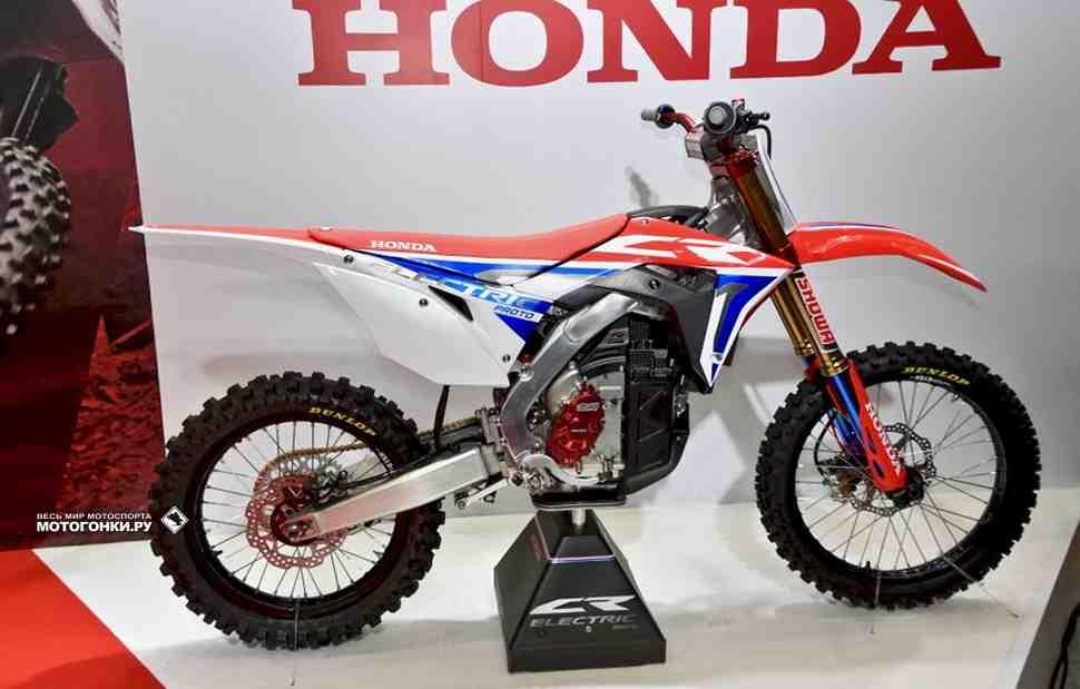 Honda E.REX: прототип кроссового электробайка представлен на Tokyo Motorcycle Show 2019