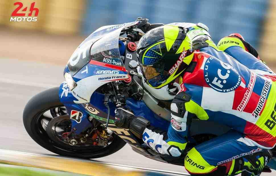 EWC: Две команды Honda возглавляют 24 Heures Motos за 2 часа до финиша