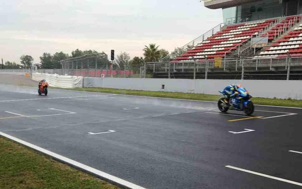 Команды MotoGP прибыли в Монтмело на тесты нового асфальта