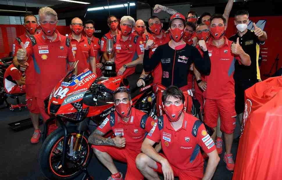 Оценим перспективы титула Ducati в MotoGP 2020?