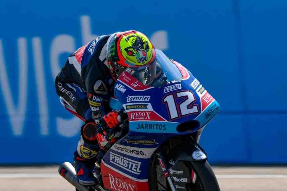 Moto3: Марко Бецекки показал лучшее время в FP3 AragonGP