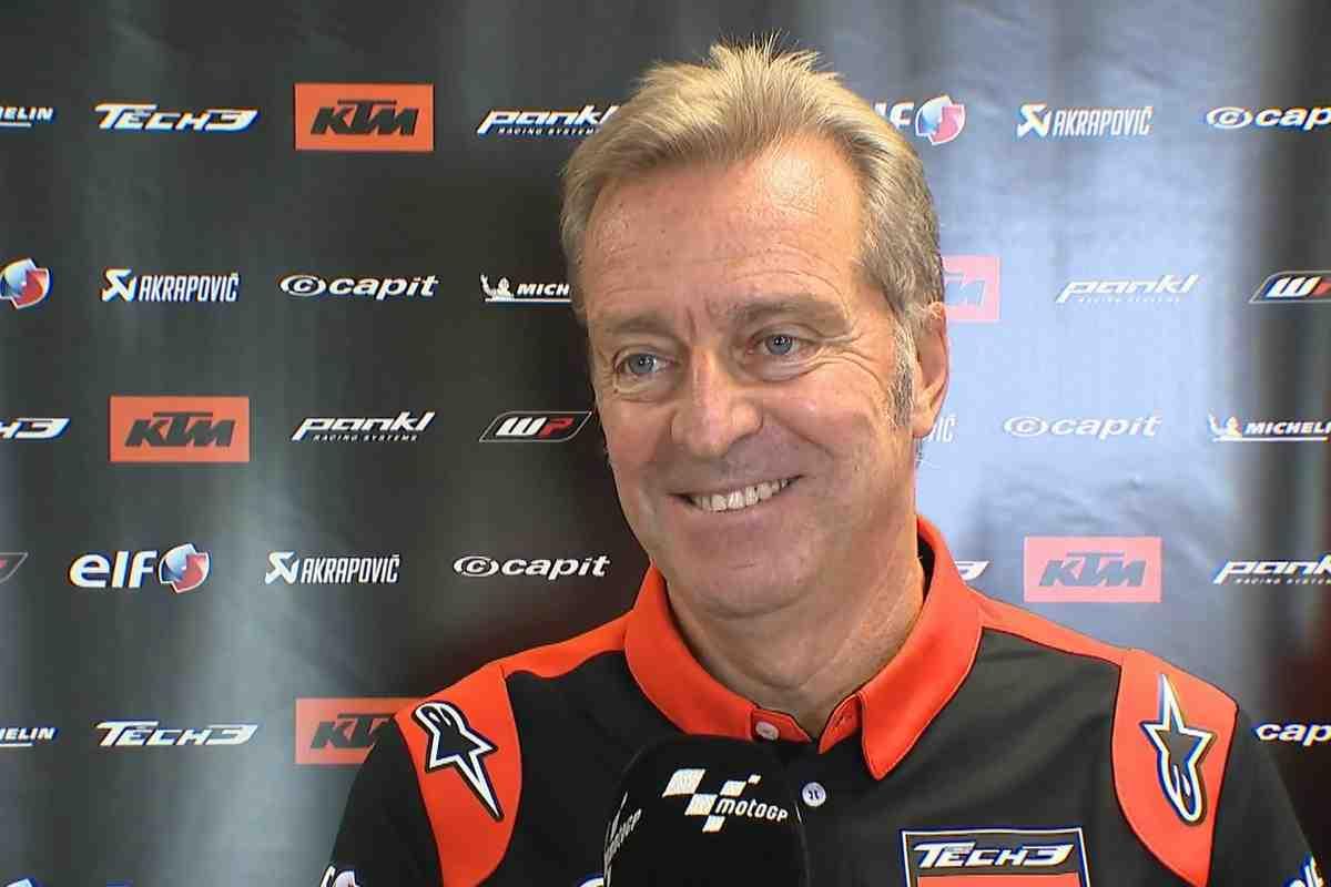Босс Tech 3 KTM Factory Racing - о реальных целях дебютного теста Фернандеса и Гарднера в MotoGP