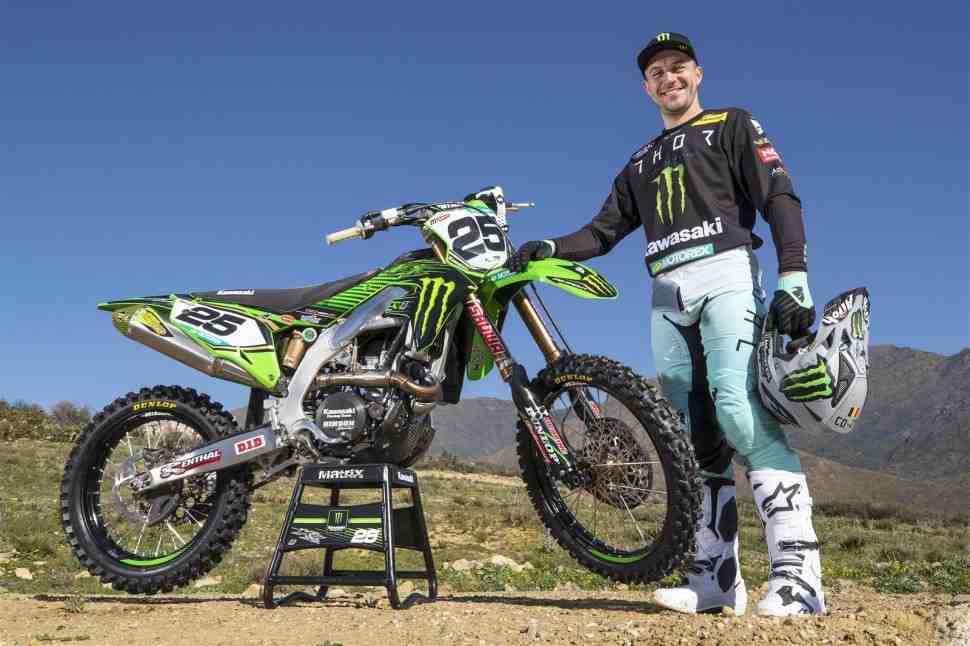 Мотокросс MXGP: Команда Monster Energy Kawasaki Racing - Десаль и Либер
