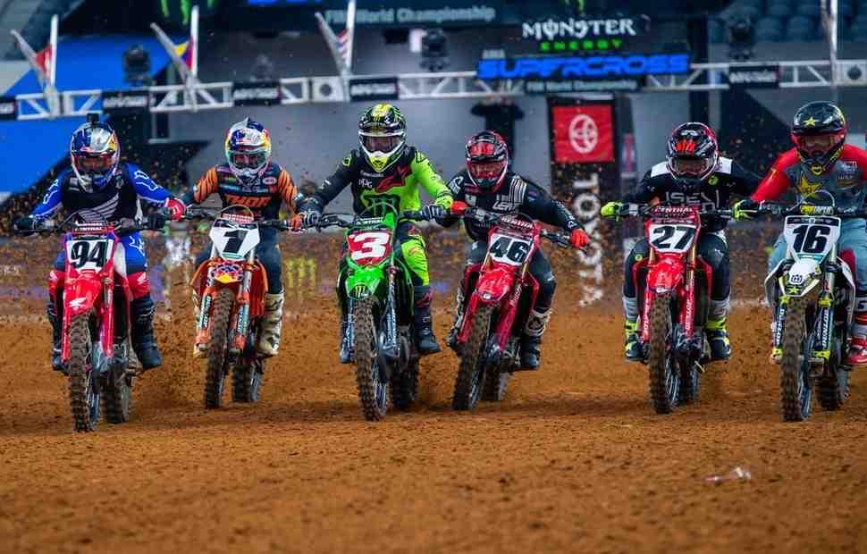 Второй Triple Header AMA Supercross 2020 в Арлингтоне: смотрим все гонки 450SX
