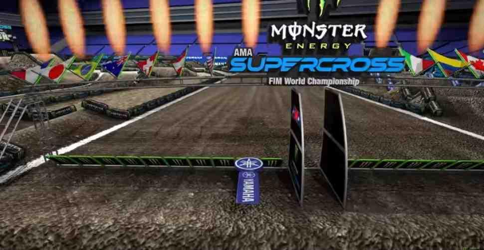 AMA Supercross: анимация трека 12-го этапа, Seattle