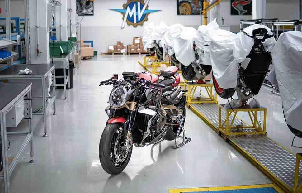 MV Agusta первой среди итальянских компаний возобновит производство после карантина
