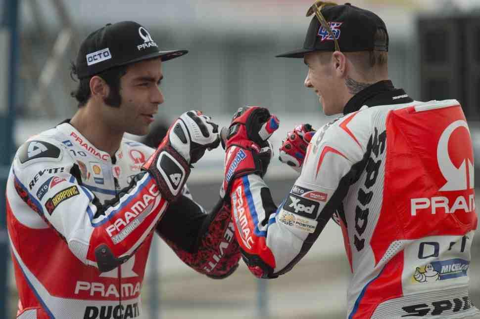 MotoGP: Данило Петруччи уже подготовили место в Aprilia Racing