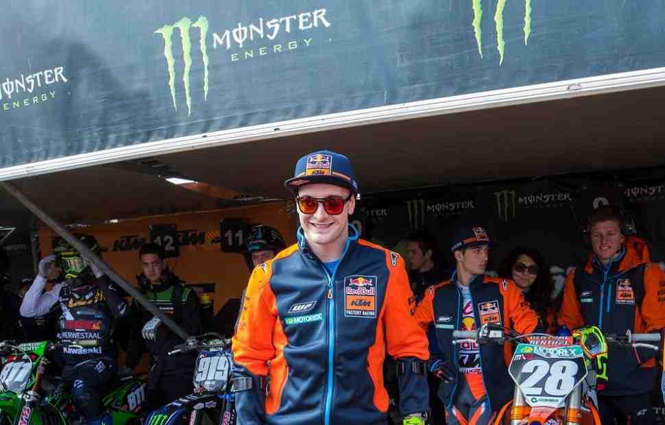 Мотокросс MXGP: Херлингс приступил к тренировкам на мотоцикле