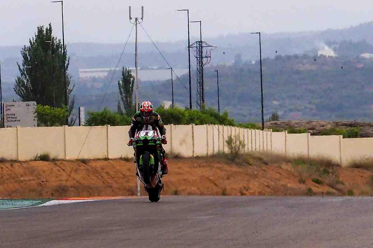 ���� 1: �������� ��� �������� ��������� ������� ������ ������� � Superpole Race AragonWorldSBK