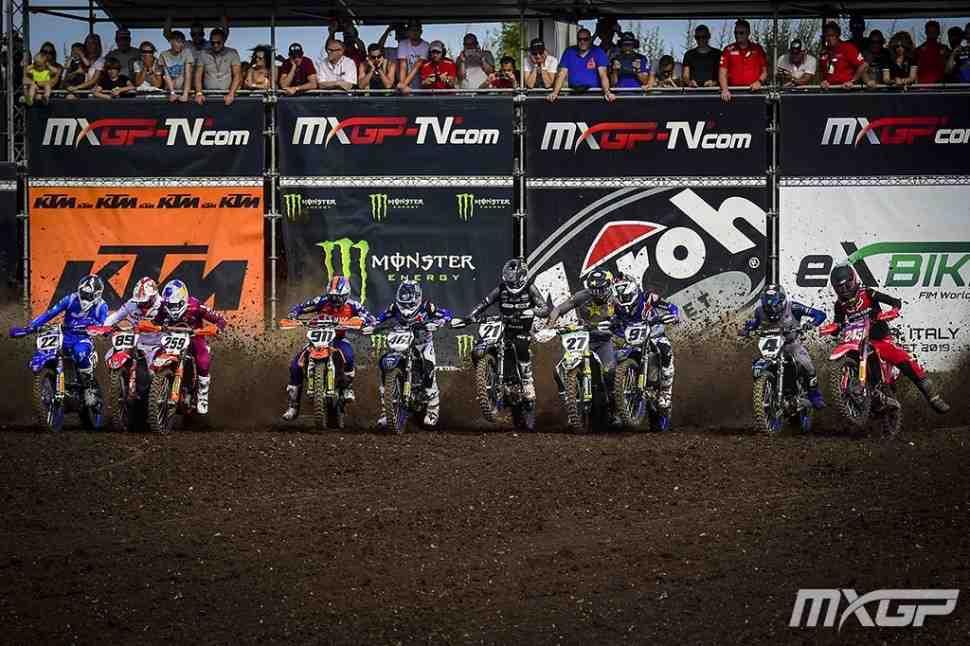 Мотокросс MXGP: первый заезд Гран-При Германии