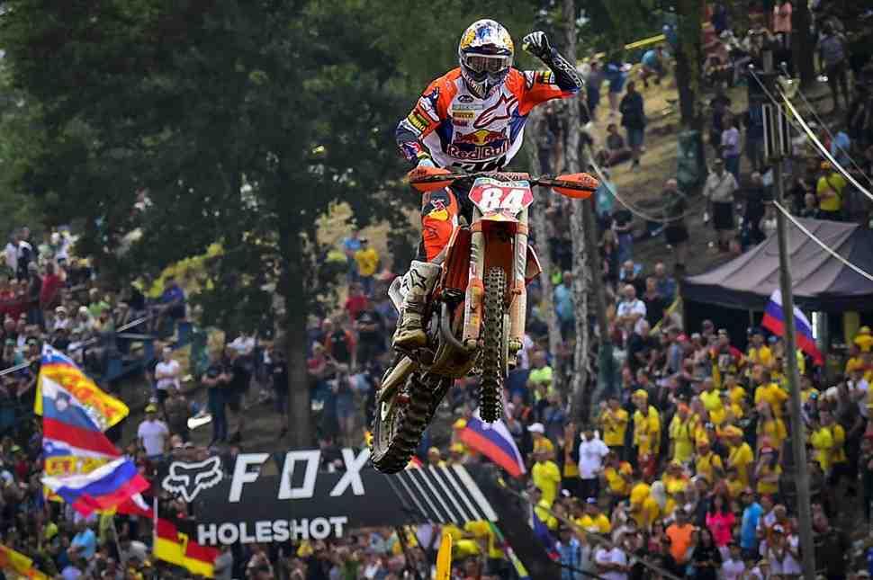 Мотокросс: видео Гран-При Чехии MXGP/MX2