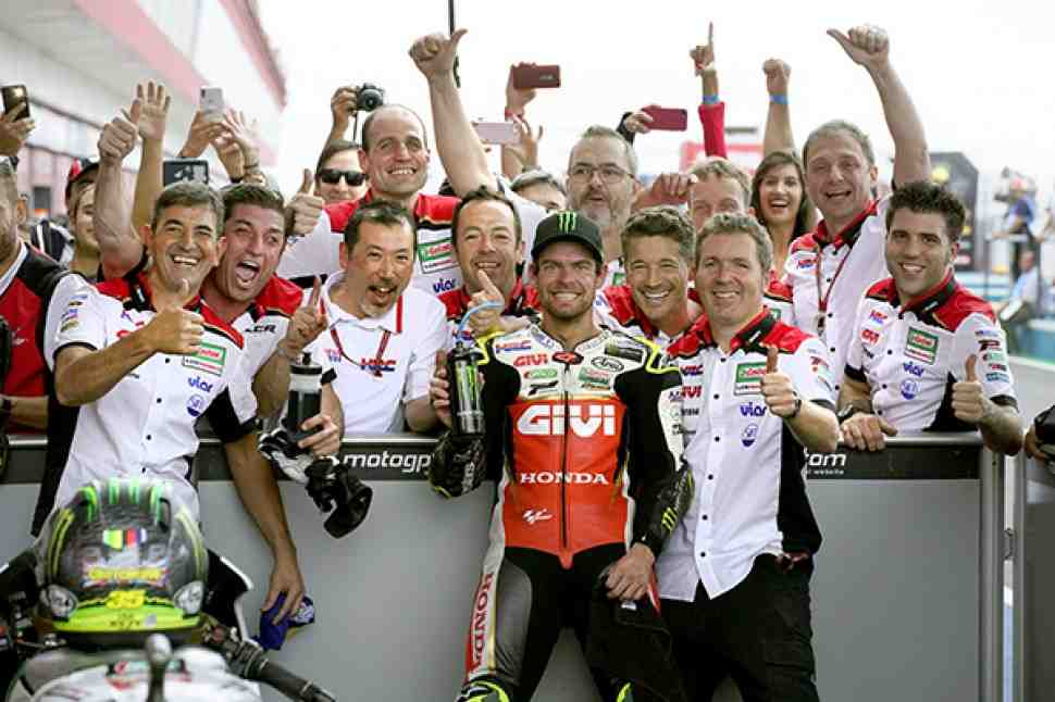 MotoGP: Кратчлоу продолжит сотрудничество с HRC до конца 2020