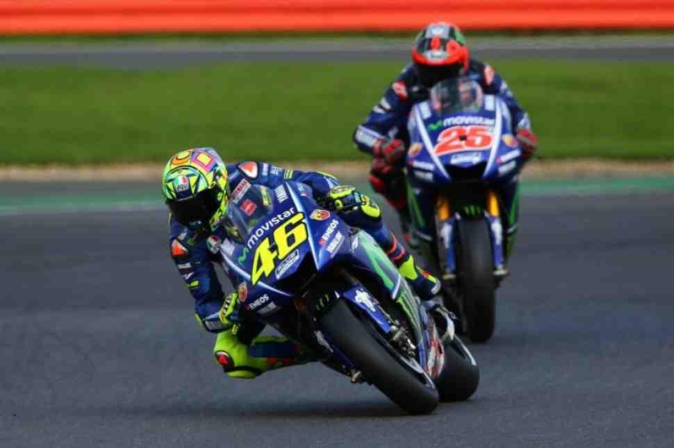 MotoGP: Росси и Виньялес надеются, что в Silverstone все будет ОК