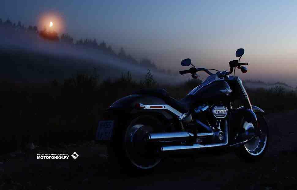 Тест-драйв: Harley-Davidson FAT BOY «114» – От заката до рассвета