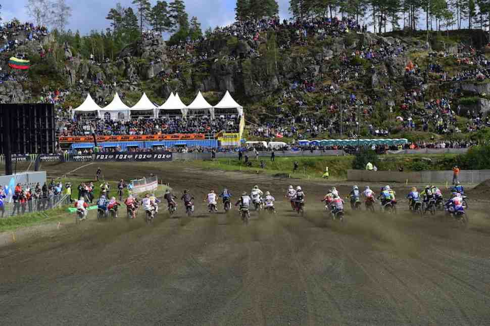 Мотокросс: Гран-При Швеции MXGP/MX2 - расписание и онлайн хронометраж