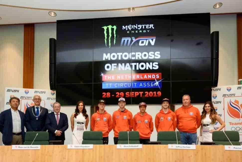 Мотокросс Наций в Ассене: сборная Нидерландов 2019