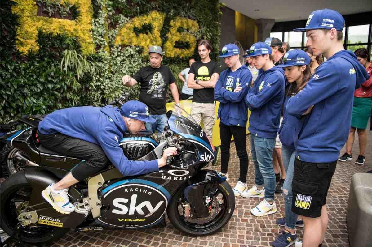 VR46 Racing заявила сразу четыре команды в чемпионаты мира по Мото Гран-При 2022 года