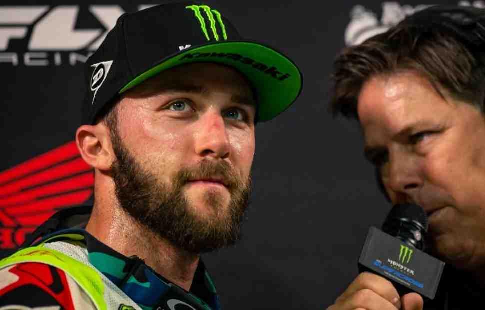 AMA Supercross: Видео - финальная гонка в Детройте определила состав подиума 450SX