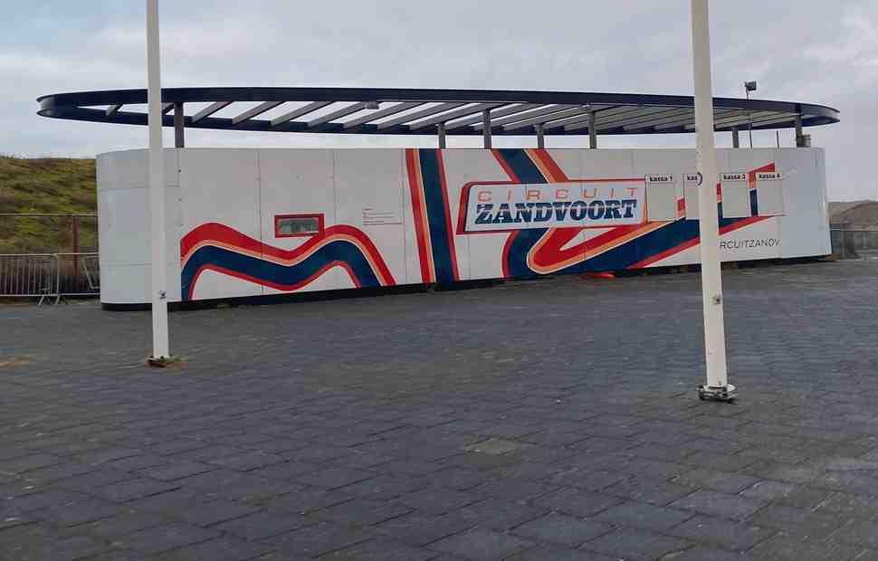 Круг по полностью обновленному Circuit Zandvoort для Формулы-1