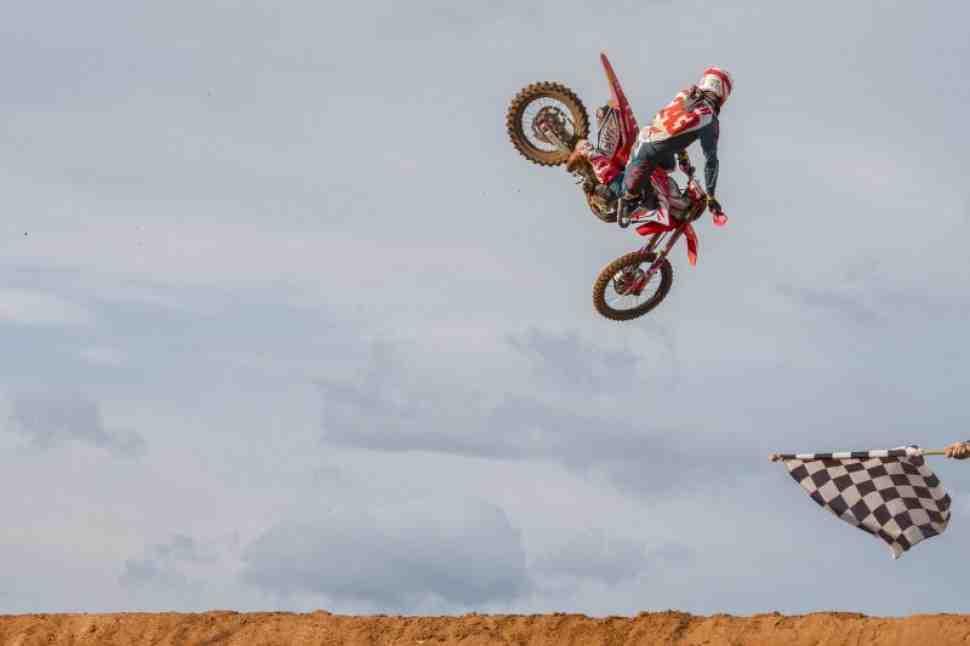 Мотокросс:  результаты квалификации Гран-При Валенсии MXGP/MX2