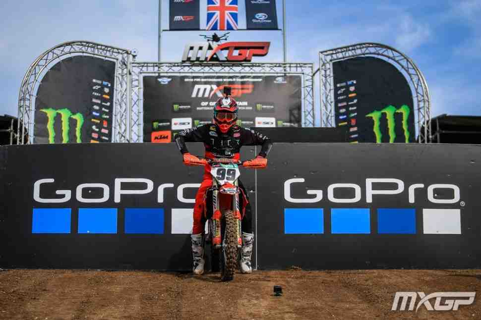 Мотокросс: Макс Ансти - круг по трассе MXGPGreatBritain