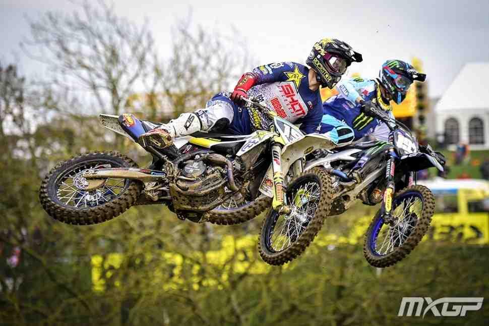 Мотокросс MX2: Томас Кьер Олсен забрал победу в 1-м заезде MXGPGreatBritain