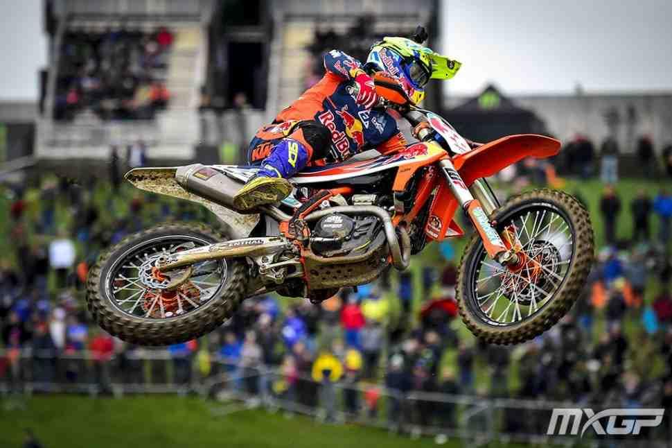 Мотокросс: результаты Гран-При Великобритании MXGP, Matterley Basin