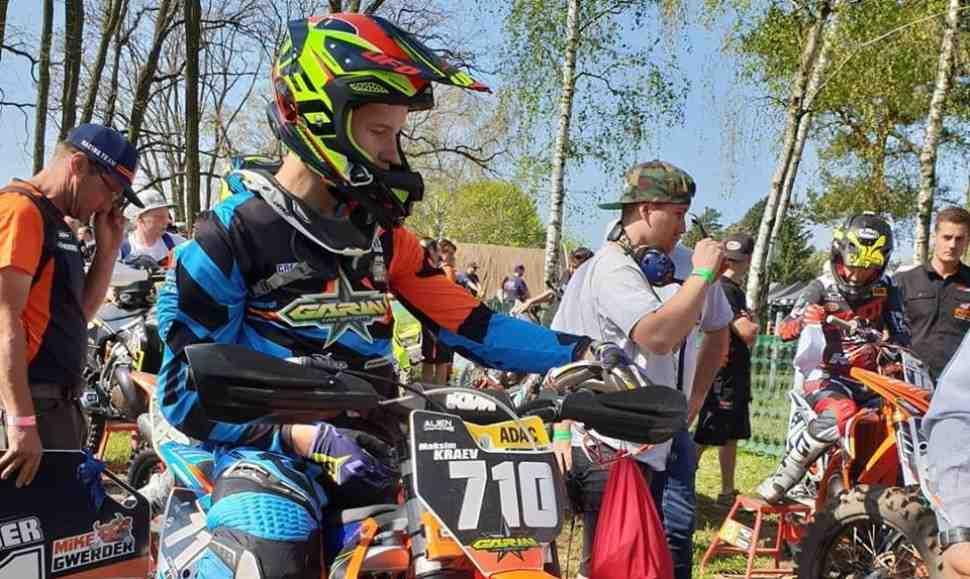 Мотокросс: Чемпионат Германии ADAC стартовал в Фюрстлих-Дрена - Максим Краев в ТОП-5
