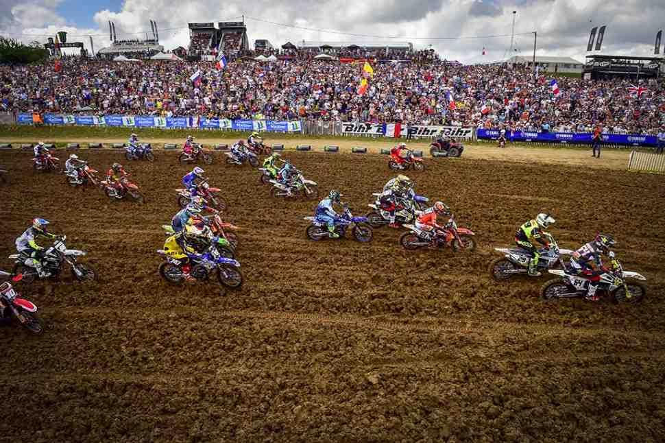 Мотокросс: онлайн хронометраж Гран-При Франции MXGP/MX2 2019