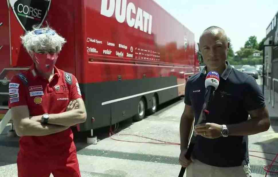 MotoGP: Босс Ducati Corse рассказал о переговорах с Довициозо и будущем Данило Петруччи